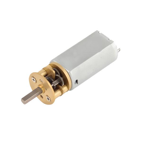 6v 12v dc geared motor reversible genphoal technology for Dc gear motor 6v